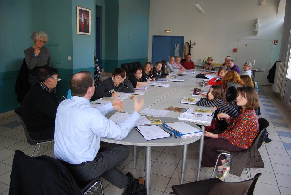 Conseil Municipal Jeunes > Nos rencontres...