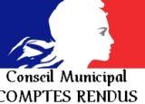 Conseil municipal<br/><span>Compte-rendu</span>
