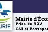 Prise de RDV : CNI et Passeport